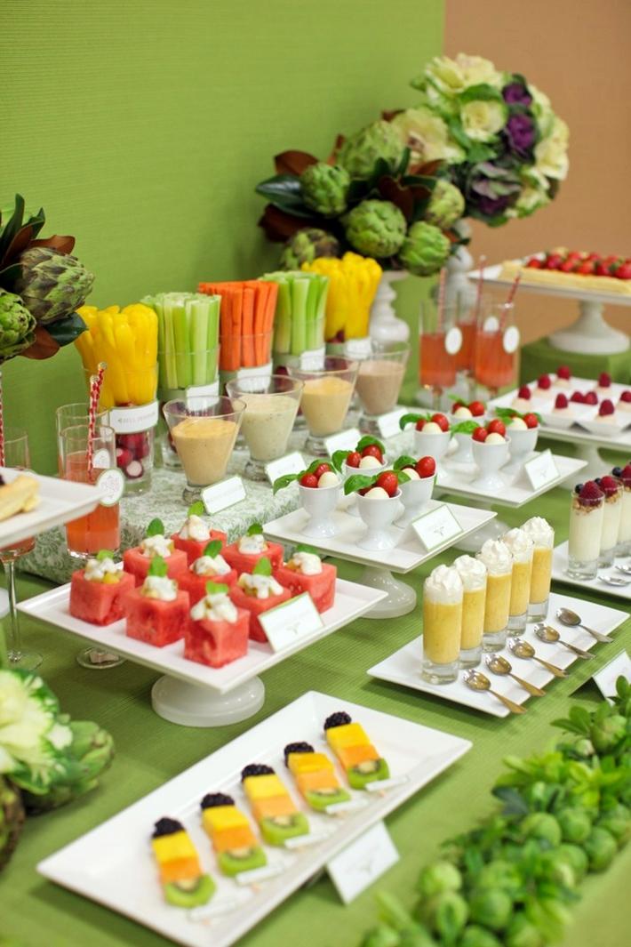 Vegetarian Dessert Table