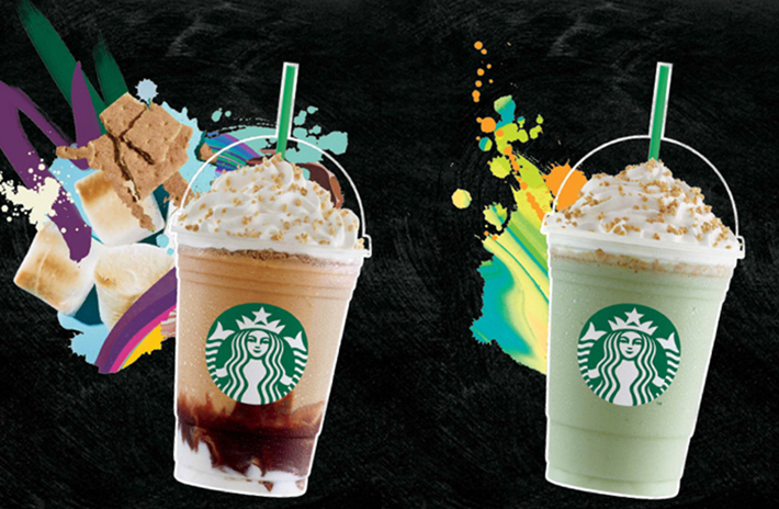Starbucks New Drinks for Summer