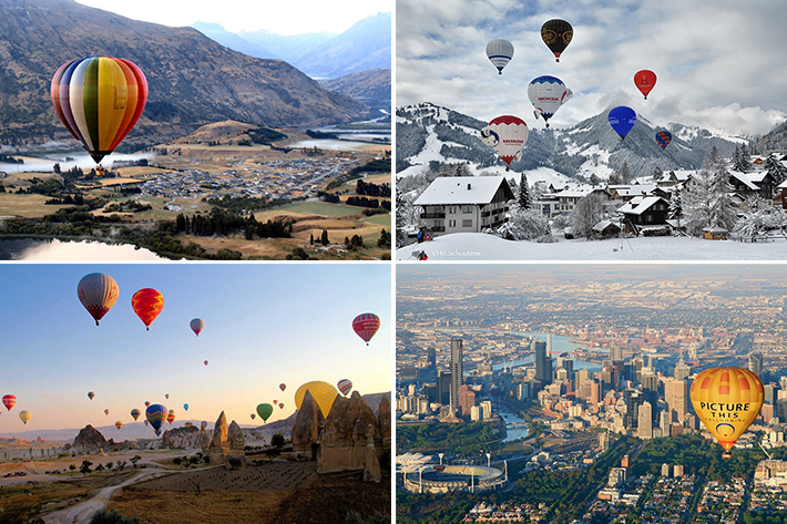 best hot air balloon rides