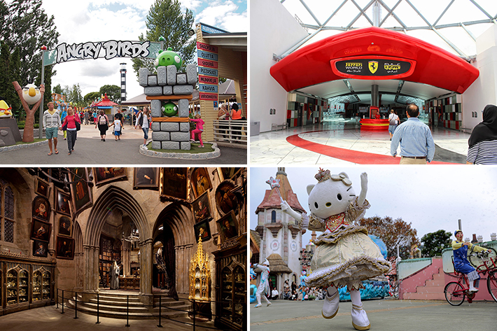 worlds amazing theme parks