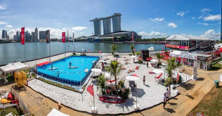 Pop Up Beach Marina Bay