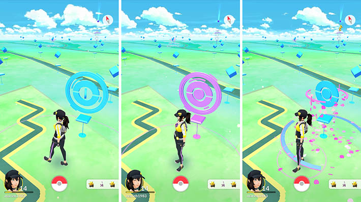 Pokemon Go Three