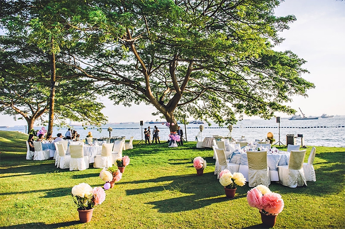 8 Venues For Beach Style Weddings In Singapore
