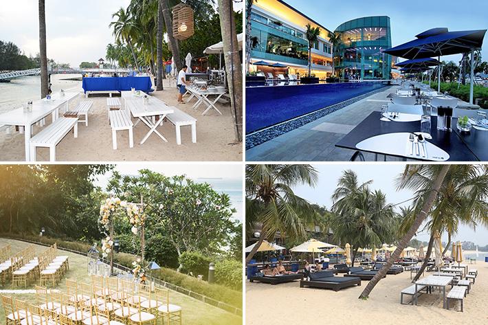singapore beach weddings