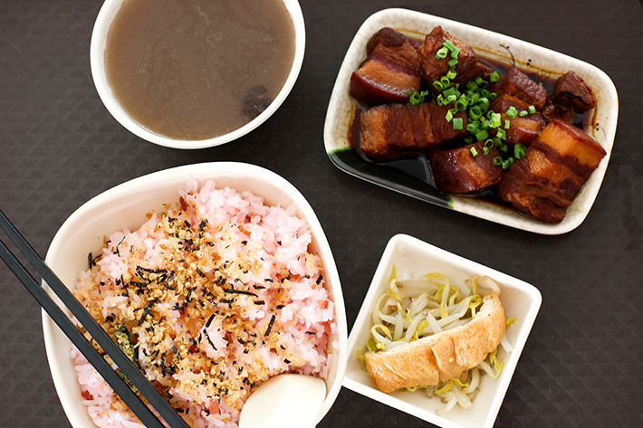 Plum & Rice Braised Pork Belly Set