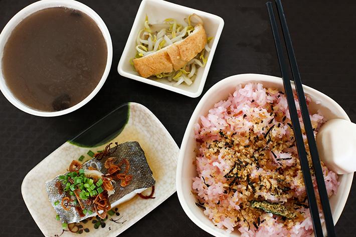 Plum & Rice Fish Set