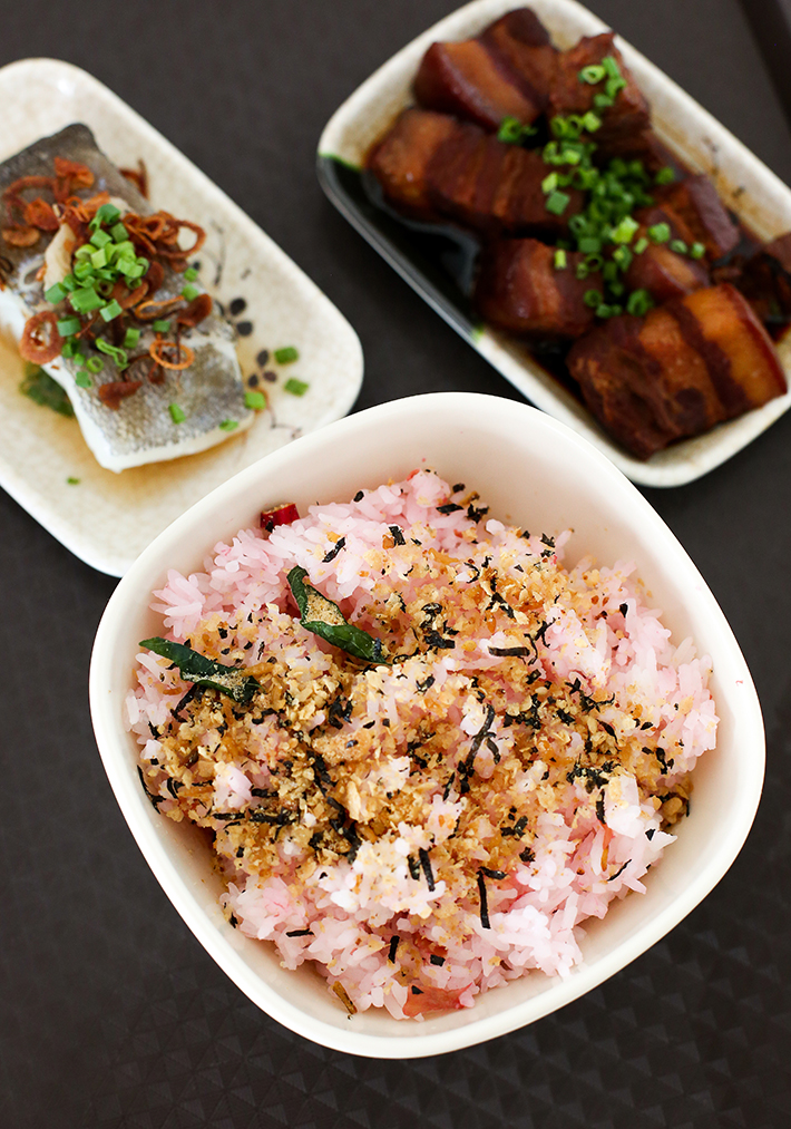 Plum & Rice Umeboshi Rice Set