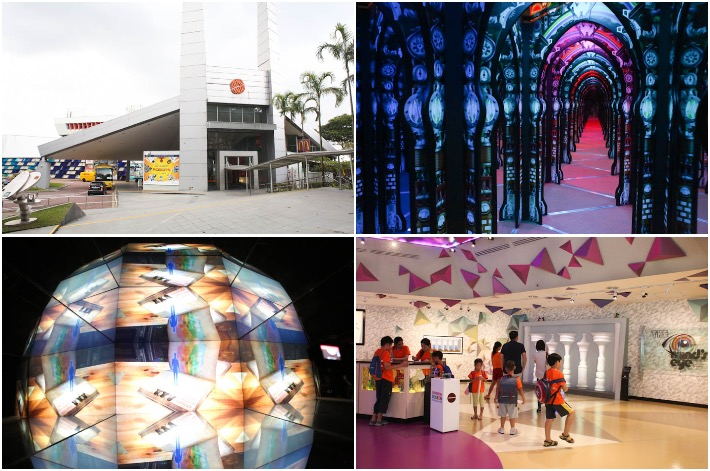 Science Cente Singapore Mirror Maze
