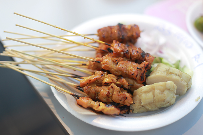 Chomp Chomp Satay