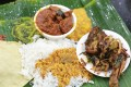 Gandhi Restaurant Thali Rice Set