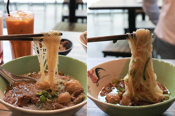 Tiew Mai Thai Boat Noodles Noodles