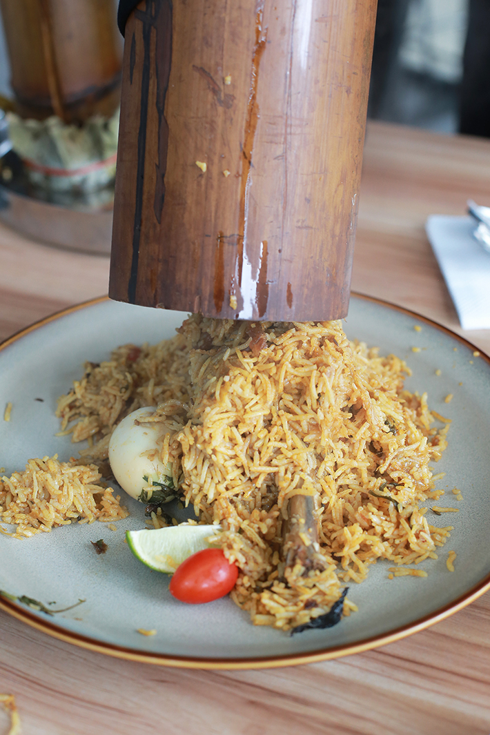 99 Bistro Amp Kitchen Bamboo Biryani And Indian Food With A