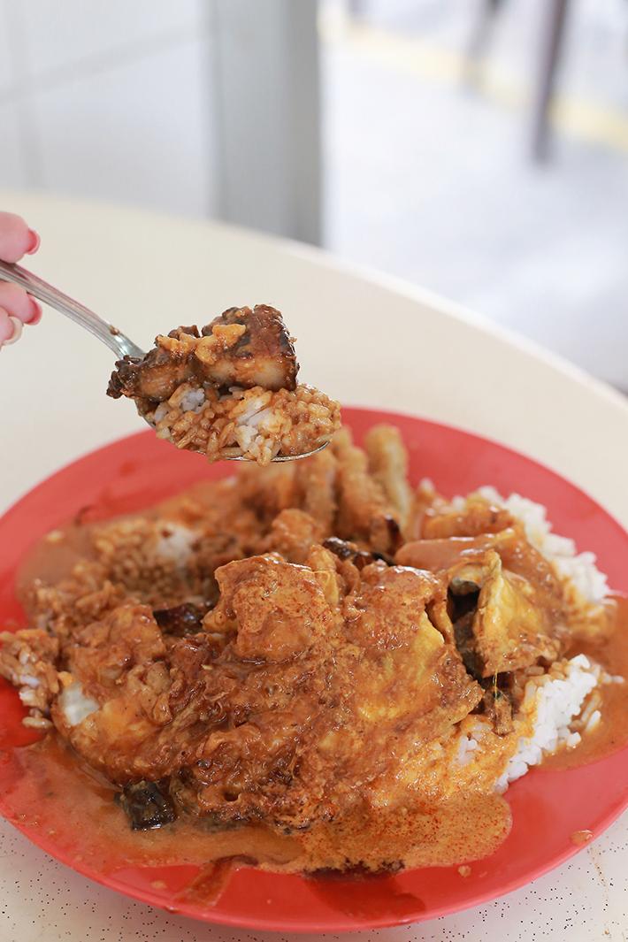 Beach Road Scissor-Cut Curry Rice Braised Pork Belly