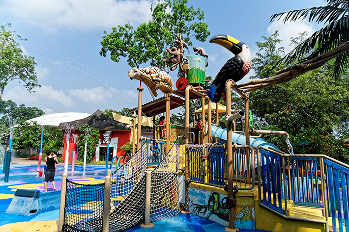 Rainforest Kidzworld Singapore Zoo