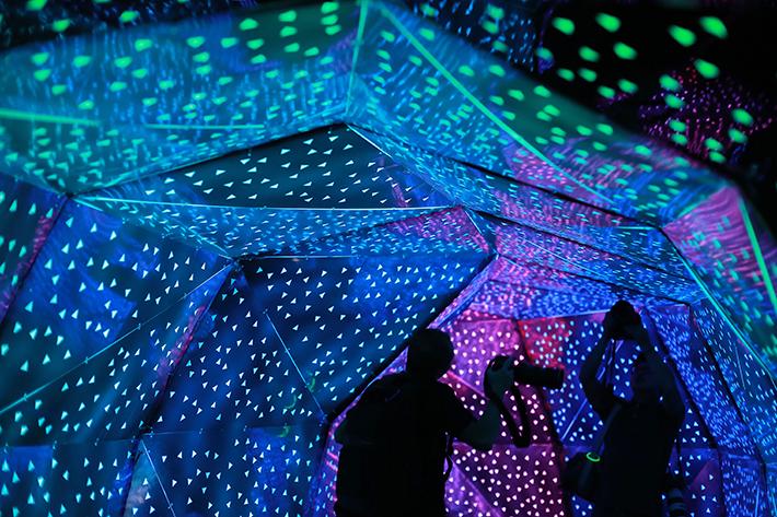 Singapore Night Festival Phosphene