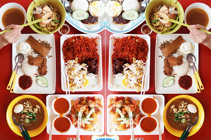 Adam Road Food Collage