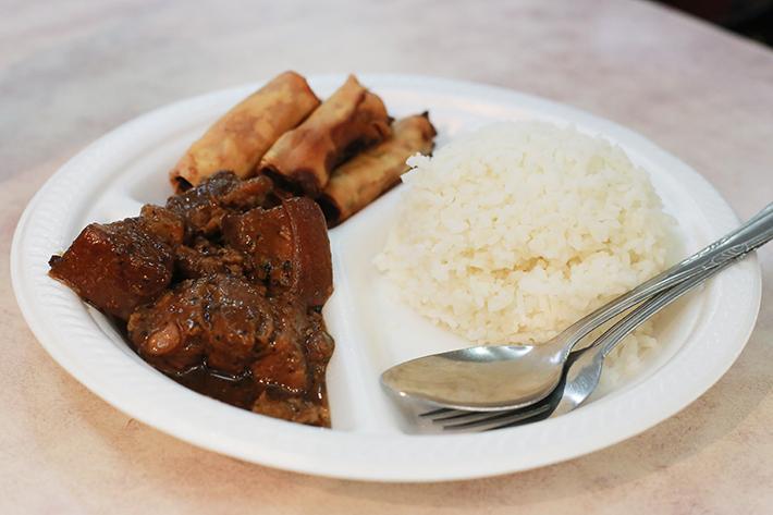 Kebayan Rice Plate