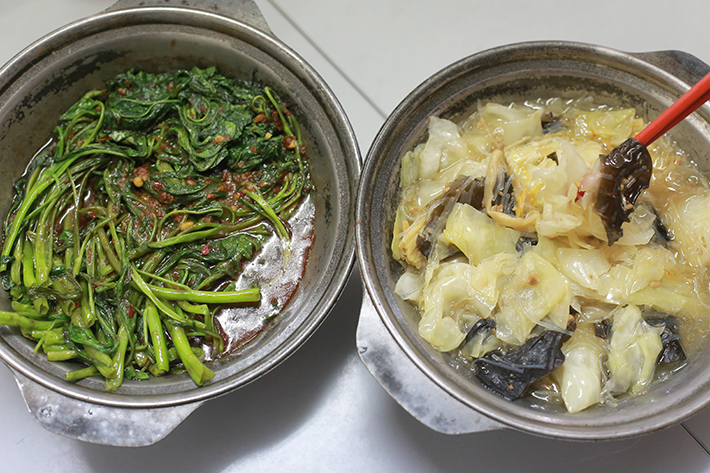 Lau Wang Claypot Delights Vegetable Dishes