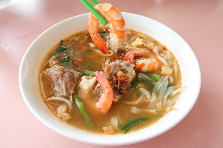 Ming's Prawn Noodle - Prawn Noodles