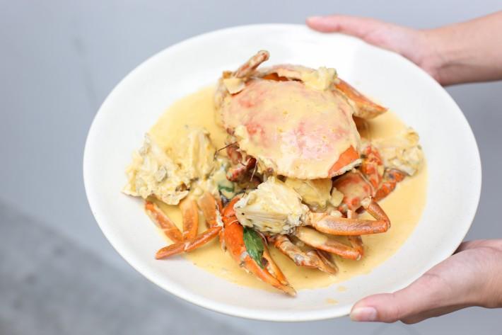 21 Seafood - Salted Egg Yolk Crab