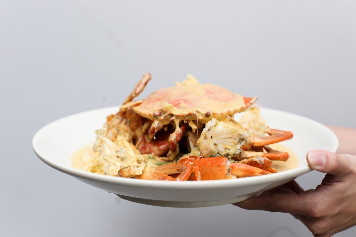 21 Seafood - Salted Egg Yolk Sri Lankan Crab