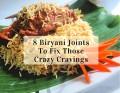 8 Biryani Joints Cover