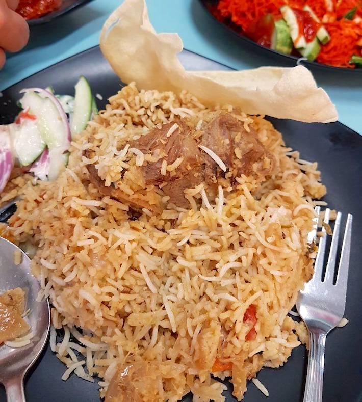 Alsalam Restaurant Mutton Biryani