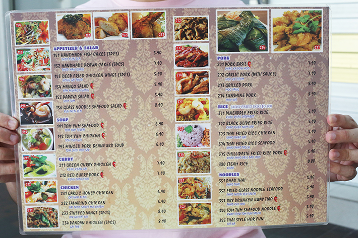 Chang Thai Menu 2