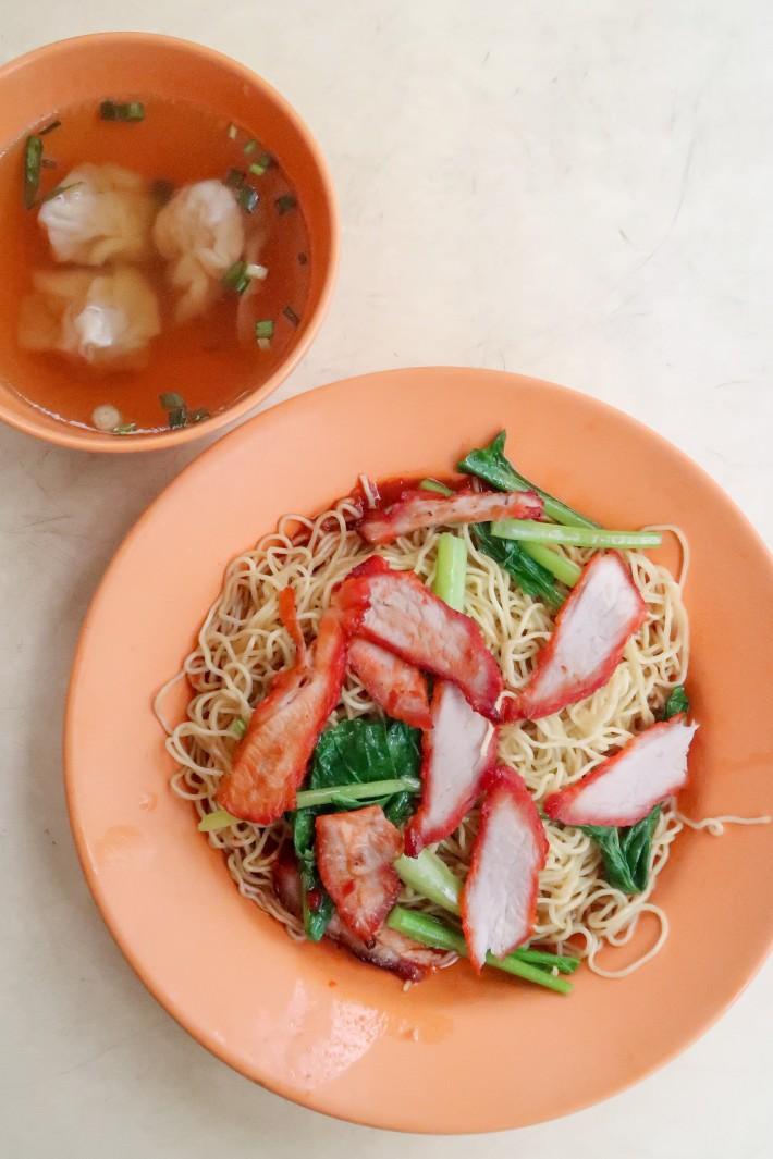 Koung's Wan Tan Mee - Wanton Mee Dry