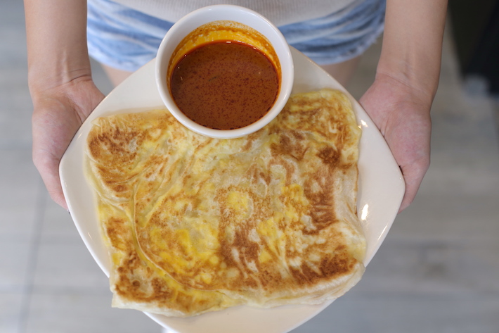 Prata Alley Cheese & Egg Prata