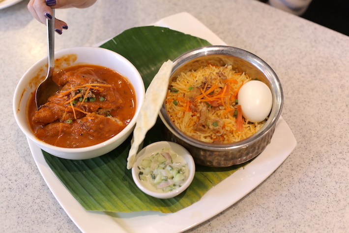 Prata Alley Chicken Sambal Biryani