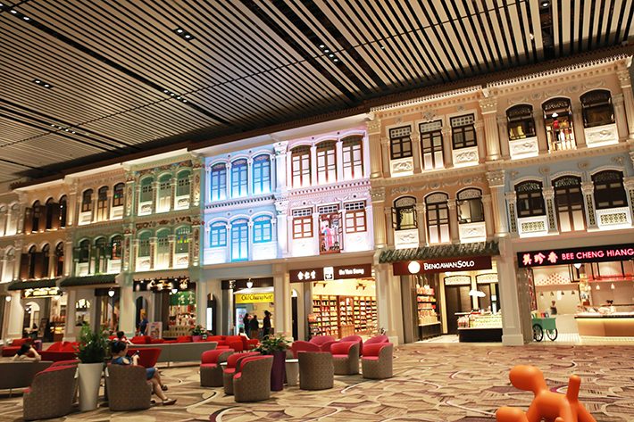 Changi Airport T4 Heritage Shops