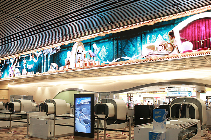 Changi Airport T4 Immersive Wall