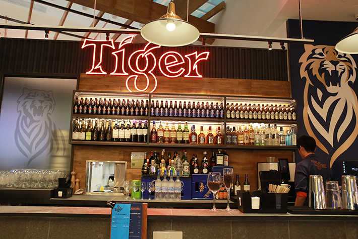 Changi Airport T4 Tiger Den