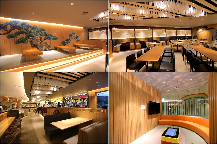 Japan Gourmet Hall SORA Interiors
