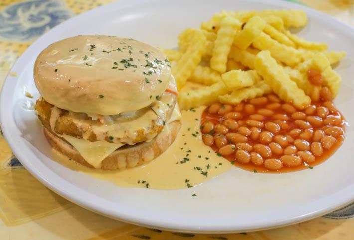 Nadim's Delights Molten Cheese Burger