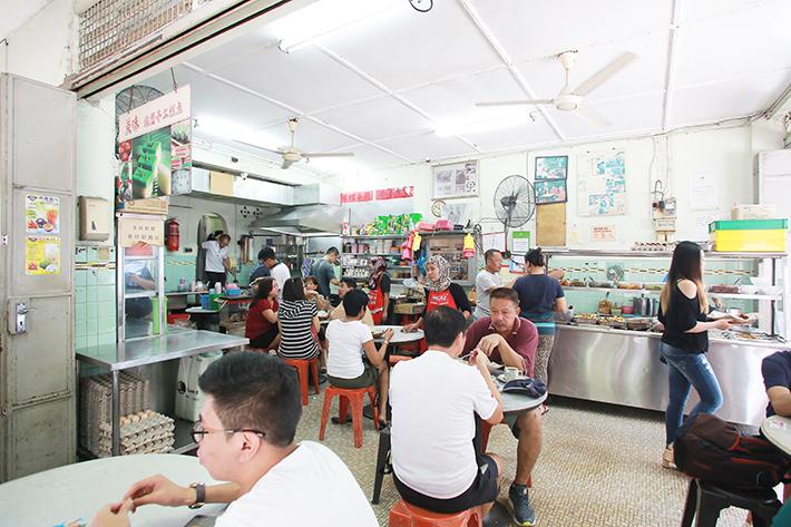 Restoran Kin Wah Interior