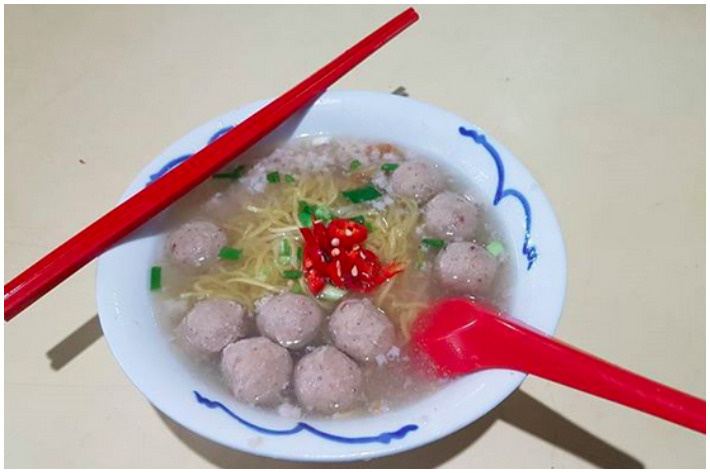 Ah Poh Minced Meat Noodle