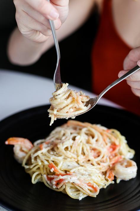 The Plug Food Co Mentaiko Pasta