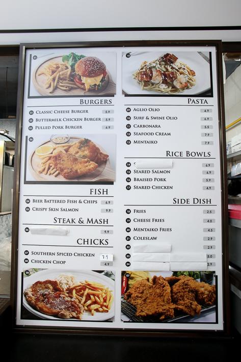 The Pluf Food Co Menu