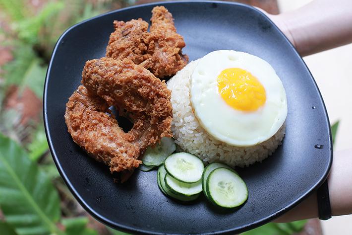 Ah Tan Wings Atas Wing Meal