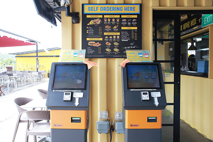 Big Fish Small Fish Order Machine