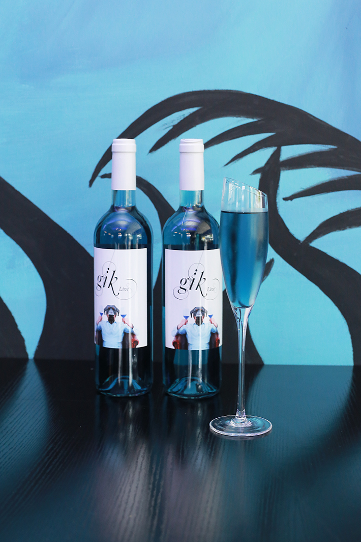 Blue Willow Blue Wine