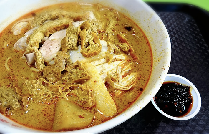Hok Hai Curry Chicken Noodle