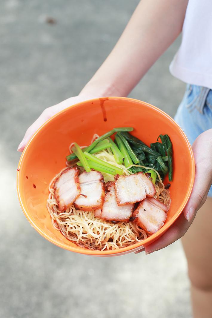Hong Kong Soy Sauce Chicken Wanton Noodles
