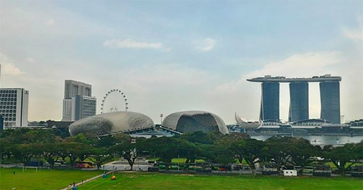National Gallery Singapore Rooftop