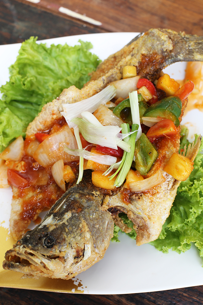 Soi 47 Sea Bass With Sweet And Sour Sauce