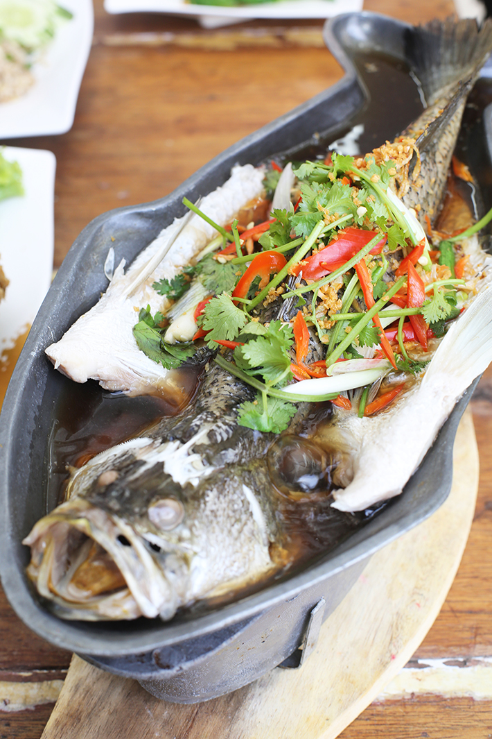 Soi 47 Steamed Sea Bass