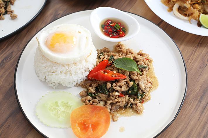 Thai Street Co Basil Chicken Rice