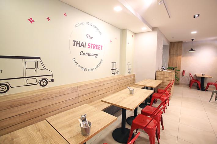 Thai Street Co Interior